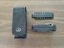 Leatherman Charge Black 154cm blade with molle sheath and bit kit