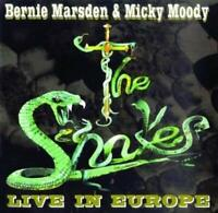The Snakes Live IN Europe (2016) Réédition 11-track Album CD Neuf/Scellé