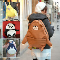 Cute Japanese Animal Shape Penguin Panda Bear Parrot Book Bag Backpack Schoolbag