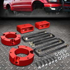 "FOR 1995-2004 TOYOTA TACOMA 2/4WD RED 3""F+2""R SPACERS+BLOCKS LEVELING LIFT KIT"