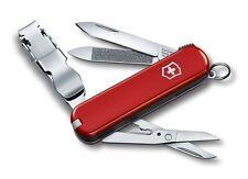0.6463 Victorinox Swiss Army Knife 65mm Nail Clip 580 Red Pocket Tool 0.6463.US2
