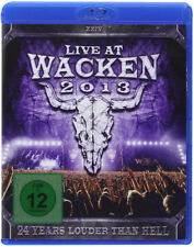 Live at Wacken 2013 Blu-Ray (2014) cert E 3 discs ***NEW*** Fast and FREE P & P