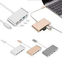 3-in-1 UBS 3.1 Type-C to USB 3.0 2.0 USB-C Port OTG Adapter  Data Sync Charger!!