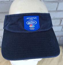 Athens Greece Adidas Olympics Golf Visor 2004 NBC Cap Hat