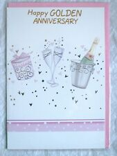 Happy Golden Anniversary Greetings Card