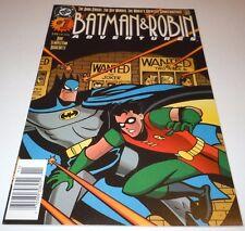 Batman & Robin Adventures #1 Comic DC NEWSSTAND VARIANT 1st Print Harley Quinn