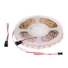 5m LED Stripe SK6812 ( ähnlich WS2812B ) RGBW Individuell adressierbar IP30