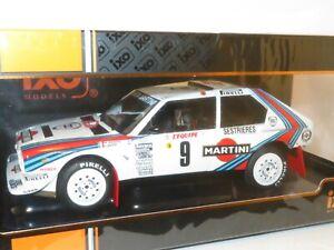 1/18 Lancia Delta S4 Group B  Martini Racing  Rally Monte Carlo 1986  M.Biasion