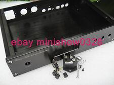 Aluminium DAC Chassis Enclosure Case w/ LCD diaplay for weiliang ES9018 XLR