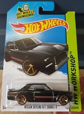 Hotwheels -  Nissan Skyline 2000GTX [Hako] [BLACK] NON ROLLCAGE VARIATION