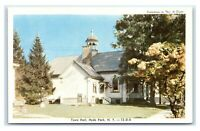 Postcard Town Hall, Hyde Park NY dated 1967 J19