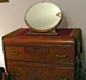 Awesome Waterfall Style Dressing Table Mirror-Free Standing-Wooden Frame-Lovely
