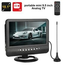 9.5'' inch Portable LCD TV FM Radio MP3 MP4 USB Slot 3D Car TV TFT Mobile DVD CA