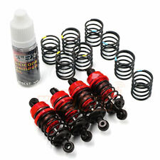 Yeah Racing QUTUS Challenger 50mm Damper Set For 1/10 RC Cars Red #DBB-2050RD