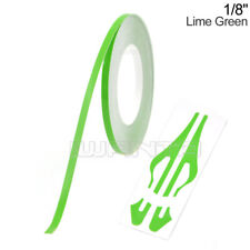 "1/8"" 3mm Lime Green Pinstripe Pin Stripe DIY Line Vinyl Tape Decal Sticker 32ft"