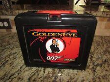 VINTAGE NICE FOREIGN ENGLISH 1993 GOLDEN EYE 007 JAMES BOND SPY PLASTIC LUNCHBOX