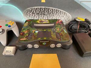 Consola Nintendo 64 N64 (Nintendo 1996) Consola sticker Majora + Mando
