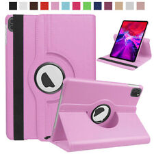 "For Apple iPad Pro 11"" & 12.9"" 2020 Case Cover Smart Leather 360 Rotating Stand"