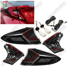 FULL LED TAIL LIGHTS LAMPS WITH SEQUENTIAL INDICATORS FOR TOYOTA CHR 2017-2020