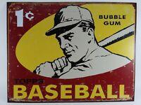Desperate Enterprises 1959 Topps Baseball Cards Gum Reproduction Metal Sign