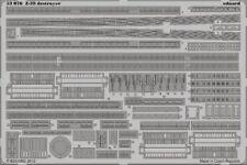 Eduard 1/350 Z-39 Zerstorer Destructor Grabado para Dragon #53076