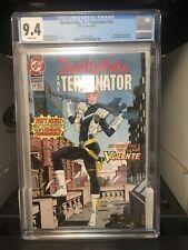 Deathstroke, The Terminator 10 CGC 9.4 NM 1ST FULL APP VIGILANTE DC Comics 1992