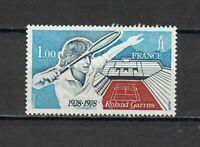 S25239) France 1978 MNH Tennis Stadium 1v Roland Garos