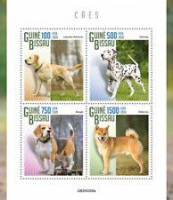 Guinea-Bissau Dogs Stamps 2020 MNH Labrador Retriever Beagle Dalmatian 4v M/S