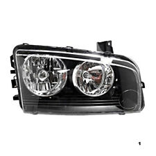 Fits 06-10 Dodge Charger Right Pass Halogen Headlamp Assy w/amber signal light