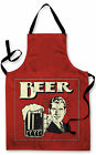 Impermeable Delantal Novedad Retro Diseño de cerveza Cocina Pintura Arte