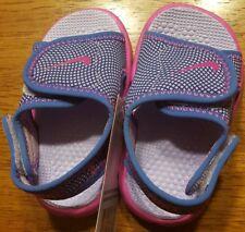 dd069a6142a0c2 NIB Nike Sunray Adjust 4 Toddler Sandal Size 4 Purple-Pink 386521-504