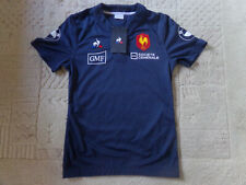 maillot rugby entrainement du XV de FRANCE stock pro S neuf COQ SPORTIF