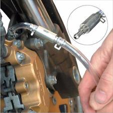 Motorcycle Car Clutch Brake Bleeder Hose One Way Valve Tube Bleeding Tools Kit