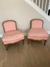 French Provincial Louis Xv chairs, pair
