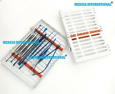 Dental Micro Surgery Oral Surgery Instruments Kit 7 Pcs With Cassette