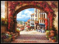 Archway - Chart Counted Cross Stitch Patterns Needlework DIY DMC Color
