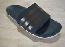 NIB Adidas Originals Women's Adilette Comfort Slides, Grey Six/Copper/White, 8M