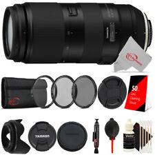Tamron 100-400mm f/4.5-6.3 Di VC USD Lens for Nikon F + Essential Accessory Kit