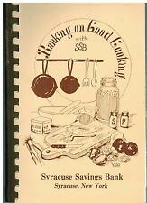 *SYRACUSE NY 1984 VINTAGE *BANKING ON GOOD COOKING COOK BOOK *STAFF & FRIENDS