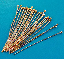 Connectors Ball Pins Dull Gold Silver Antique Bronze 15mm 20mm 25mm 30mm 40mm