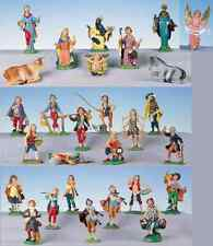 30 pezzi pastori FONTANINI colorato cm 12 presepio completo presepe natività