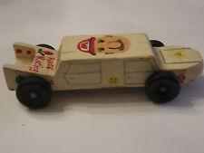 Vintage Pinewood Derby Car - Mario Bros. Theme Car -