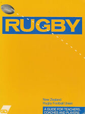 """Rugby Football - A Guide Book for Teachers Coaches & Players"" by Campbell 1987"
