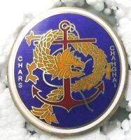 Insigne Chars de Changhaï - Chine colonial - Refrappe