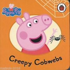 "Ladybird Peppa Pig ""espeluznante telarañas"" Tarjeta de lectura temprana Libro"