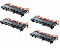 4-Pk/Pack TN660 TN630 High Yield Toner for Brother HL-L2300D L2320D L2340DW
