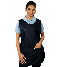 More details for ashdan m136 budget tabard. economy. catering,cleaning, janitorial. black & navy