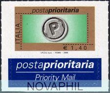 ITALIA 2006  - POSTA PRIORITARIA  1,40  RARO **