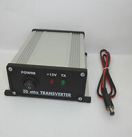 50 to 28 MHz ASSEMBLED TRANSVERTER 6meters 6m 50mhz 54mhz VHF UHF Ham Radio