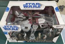 Star Wars Clone Wars AT-TE All Terrain Tactical Enforcer Costco Exclusive Set